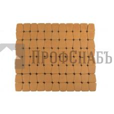 Тротуарная плитка Классико круговая янтарная (73/110/115*60)