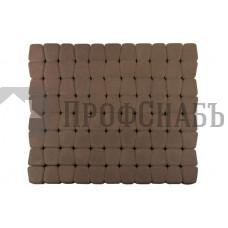 Тротуарная плитка Классико круговая коричневая (73/110/115*60)