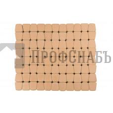 Тротуарная плитка Классико круговая коралловая (73/110/115*60)