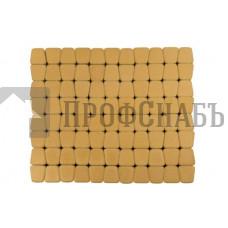 Тротуарная плитка Классико круговая медовая (73/110/115*60)
