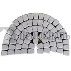 Тротуарная плитка Классико круговая грифельная (73/110/115*60)