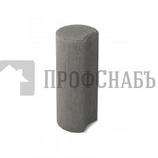 Палисад ПК 10.25 Браер бетонный столбик ограждения серый
