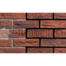 Кирпич ручной формовки ENGELS Limburgs oranje bont, 215х100х65