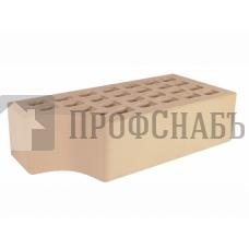Кирпич Железногорский слоновая кость одинарный КФ-1