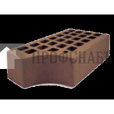 Кирпич Железногорский темно-коричневый одинарный КФ-1