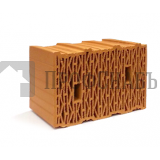 Камень рядовой поризованный ЛСР 10,7 НФ рифленый теплый