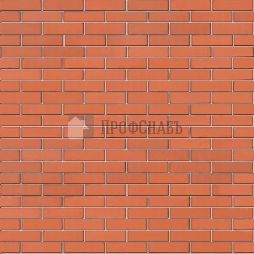 Кирпич Браер облицовочный красный гладкий евро