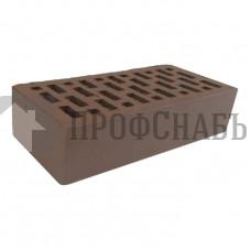 Кирпич Браер облицовочный светло-коричневый гладкий одинарный