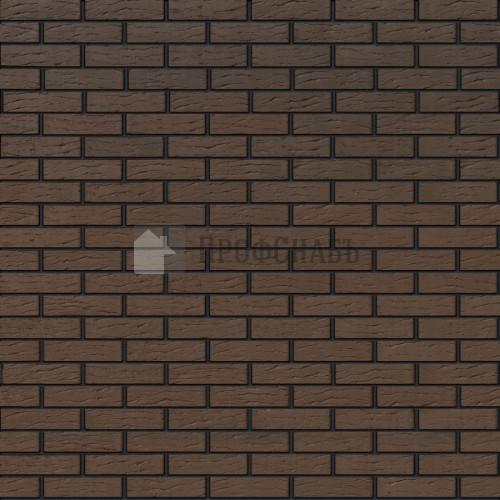 Кирпич Браер облицовочный светло-коричневый рифленый одинарный