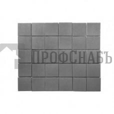 Тротуарная плитка Лувр серая (100/100*60)