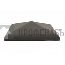 Колпак заборный керамический 460х460х100