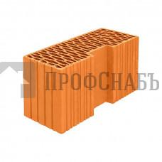 Кирпич Porotherm керамический доборный угловой PTH44R, М-100 9,14NF