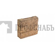 Кирпич Донские зори облицовочный ручной работы полнотелый ШАХМАТОВО, 0,5 WDF