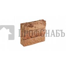 Кирпич Донские зори облицовочный ручной работы полнотелый МИЛЬШИНО, 0,5 WDF
