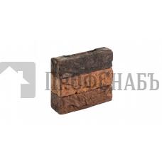 Кирпич Донские зори облицовочный ручной работы полнотелый ЮРЛОВО, 0,5 WDF