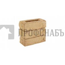 Кирпич Донские зори облицовочный ручной работы полнотелый БЕРНОВО, 0,5 WDF