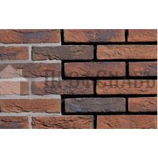 Кирпич ручной формовки ENGELS Limburgs oranje bont, 215х45-50х65
