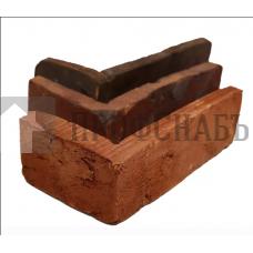 Фасадная плитка Угловой элемент Царский кирпич