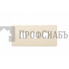 Кирпич Железногорский белый полнотелый одинарный 1 НФ