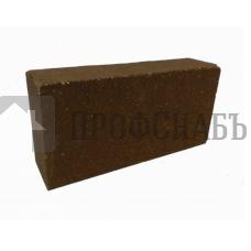 Кирпич печной БОРОВИЧИ огнеупорный прямой ША-8 ЭКСТРА терракот