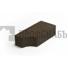 Кирпич печной LODE BRUNIS F13  фигурный коричневый гладкий одинарный