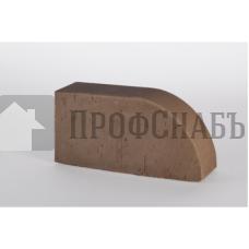 Кирпич печной LODE BRUNIS F17 фигурный коричневый гладкий одинарный