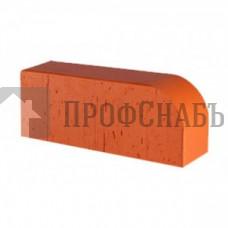 Кирпич печной LODE JANKA F15 (R-60) фигурный красный гладкий одинарный