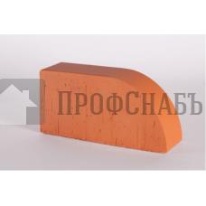 Кирпич печной LODE JANKA F17 фигурный красный гладкий одинарный
