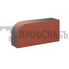 Кирпич печной КС-КЕРАМИК АРЕНБЕРГ R-60 фигурный красный гладкий одинарный