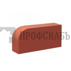 Кирпич печной КС-КЕРАМИК R-60 фигурный красный гладкий одинарный