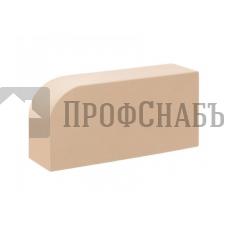 Кирпич печной КС-КЕРАМИК ЛОТОС R-60 фигурный гладкий одинарный