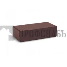 Кирпич печной КС-КЕРАМИК ТЕМНЫЙ ШОКОЛАД гладкий одинарный