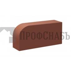 Кирпич печной КС-КЕРАМИК ТЕРРАКОТ R-60 фигурный гладкий одинарный