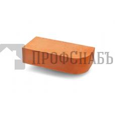 Кирпич печной ВИТЕБСК фигурный R-60 полнотелый красный одинарный