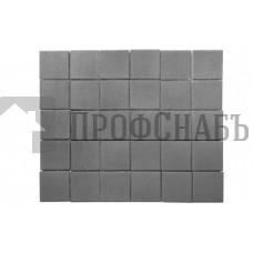 Тротуарная плитка Лувр серая (200/200*60)