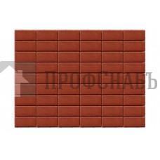 Тротуарная плитка Браер Прямоугольник красная (200/100*40)