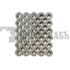 Газонная решетка Браер «Меба» серая (600/400*100)
