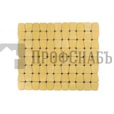 Тротуарная плитка Классико круговая песочная (73/110/115*60)