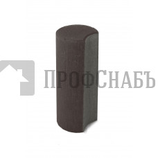 Палисад ПК 10.25 Браер бетонный столбик ограждения коричневый