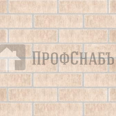 """Кирпич Железногорский слоновая кость одинарный 1 НФ """"Бархат"""""""