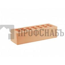 Кирпич Железногорский облицовочный персиковый гладкий евро