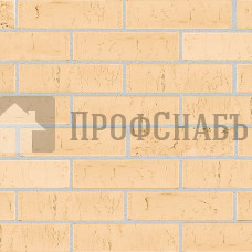 """Кирпич Железногорский облицовочный """"Скала"""" соломенный рифленый евро"""