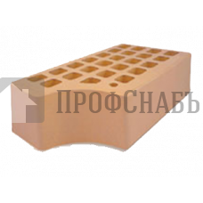 Кирпич Железногорский соломенный одинарный КФ-1