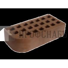 Кирпич Железногорский темно-коричневый полуторный КФ-2
