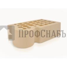 Кирпич Железногорский слоновая кость полуторный КФ-3