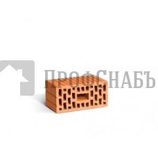 Строительный кирпич рядовой поризованный ЛСР двойной рифленый