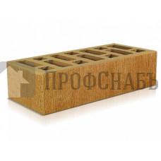 """Кирпич Старооскольский соломенный одинарный 1 НФ """"Бархат"""""""